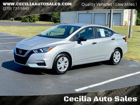 2020 Nissan Versa for sale at Cecilia Auto Sales in Elizabethtown KY