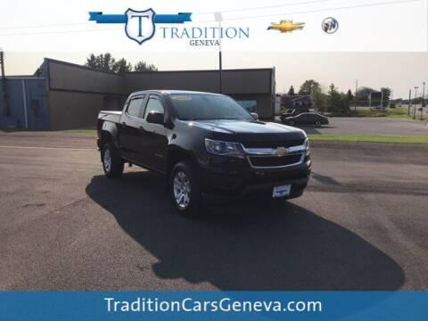 2019 Chevrolet Colorado for sale at Tradition Chevrolet Buick in Geneva NY