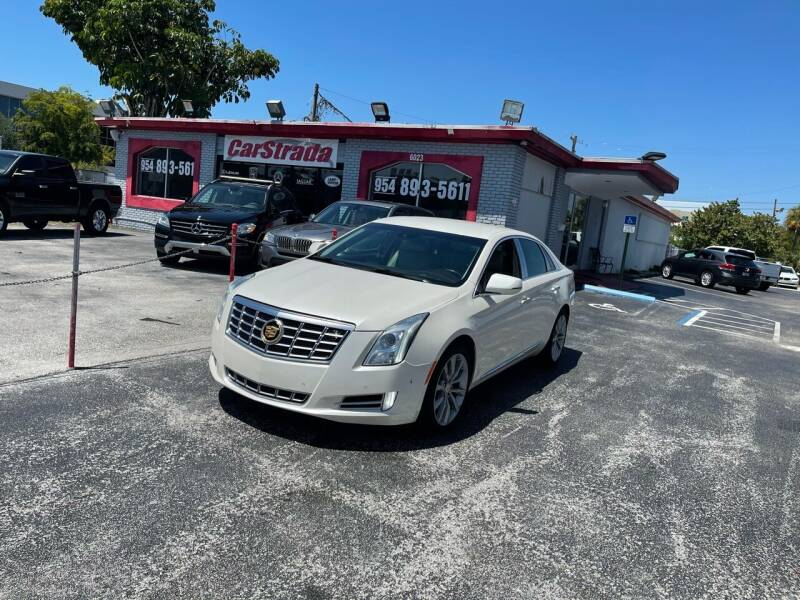 2015 Cadillac XTS for sale at CARSTRADA in Hollywood FL