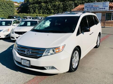 2012 Honda Odyssey for sale at MotorMax in Lemon Grove CA