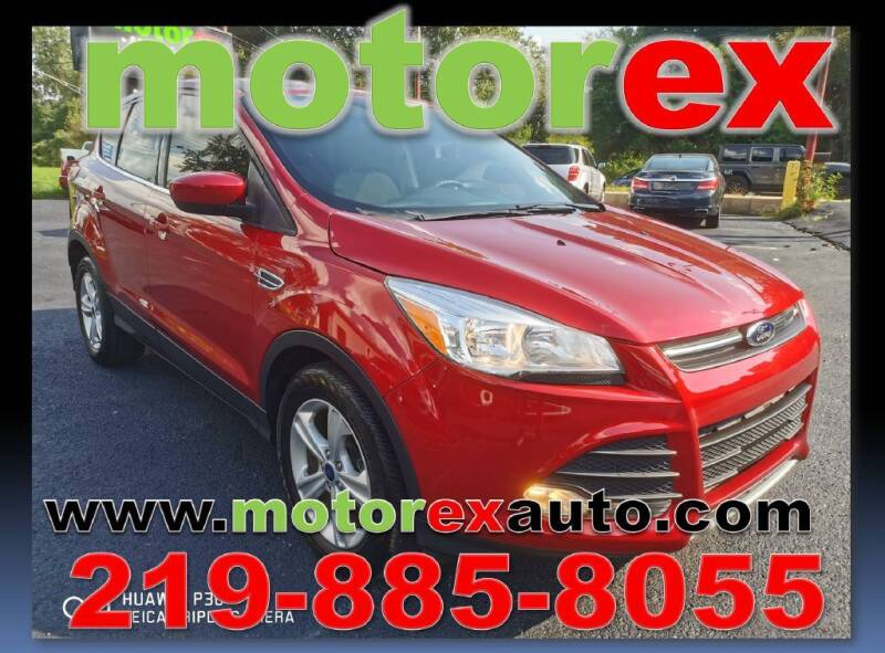2016 Ford Escape for sale at Motorex Auto Sales in Schererville IN