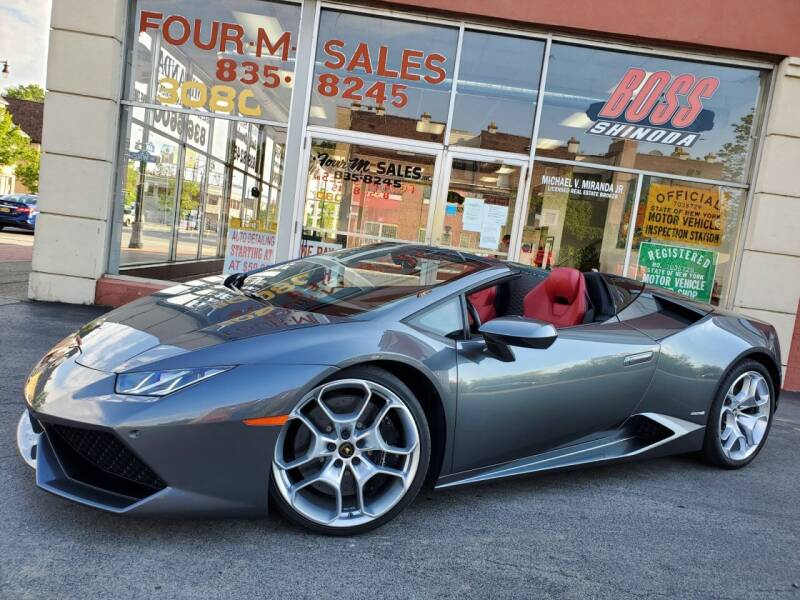 2016 Lamborghini Huracan for sale at FOUR M SALES in Buffalo NY