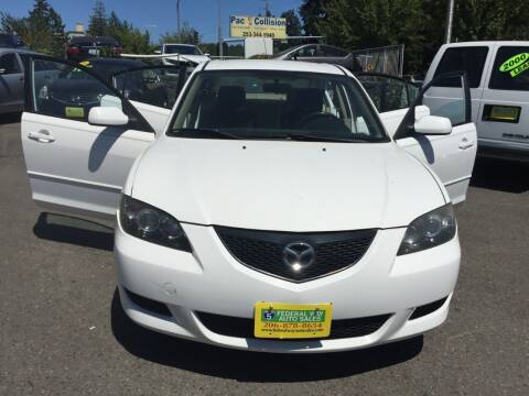 2006 Mazda MAZDA3 for sale at Federal Way Auto Sales in Federal Way WA
