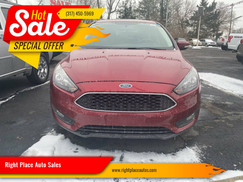 2017 Ford Focus for sale at Right Place Auto Sales in Indianapolis IN