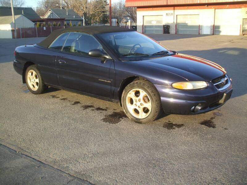 1998 Chrysler Sebring for sale at FOUR SEASONS MOTORS in Plainview MN