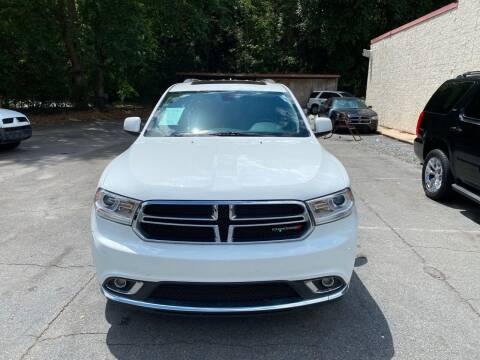 2014 Dodge Durango for sale at J Franklin Auto Sales in Macon GA