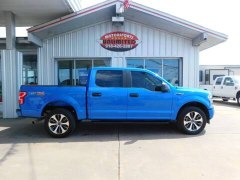 2019 Ford F-150 for sale at Motorsports Unlimited in McAlester OK