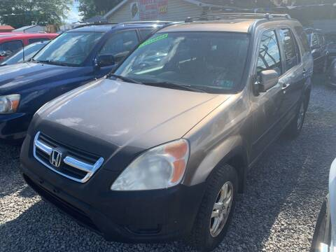 2003 Honda CR-V for sale at Trocci's Auto Sales in West Pittsburg PA