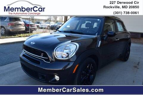 2015 MINI Countryman for sale at MemberCar in Rockville MD
