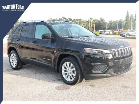 2021 Jeep Cherokee for sale at BARTOW FORD CO. in Bartow FL