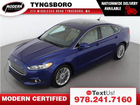 2014 Ford Fusion for sale at Modern Auto Sales in Tyngsboro MA