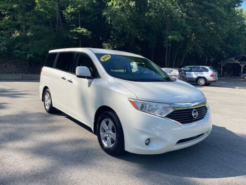 2012 Nissan Quest for sale at Worldwide Auto Group LLC in Monroeville PA