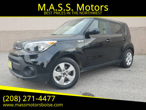 2018 Kia Soul for sale at M.A.S.S. Motors - Emerald in Boise ID