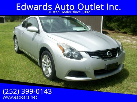2013 Nissan Altima for sale at Edwards Auto Outlet Inc. in Wilson NC