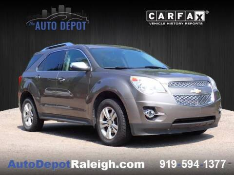 2011 Chevrolet Equinox for sale at The Auto Depot in Raleigh NC