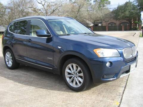 2011 BMW X3 for sale at JAYCEE IMPORTS in Houston TX