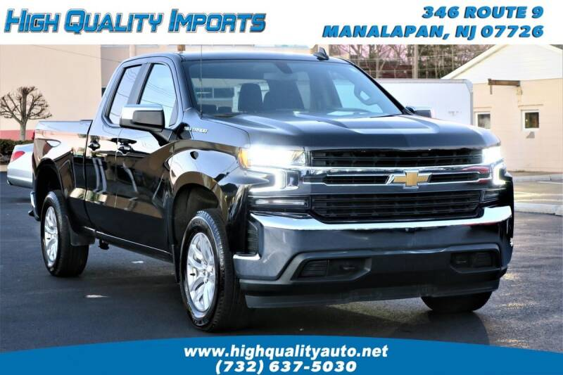 2020 Chevrolet Silverado 1500 for sale at High Quality Imports in Manalapan NJ