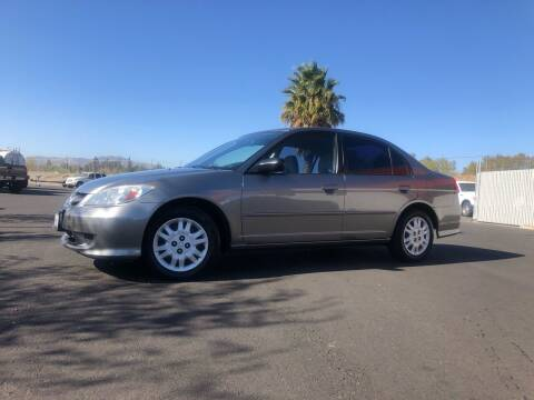 2005 Honda Civic for sale at BOARDWALK MOTOR COMPANY in Fairfield CA