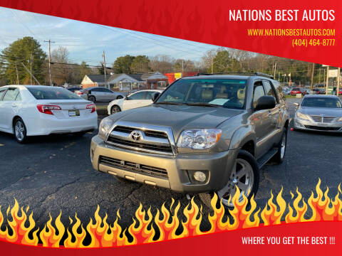 2006 Toyota 4Runner for sale at Nations Best Autos in Decatur GA