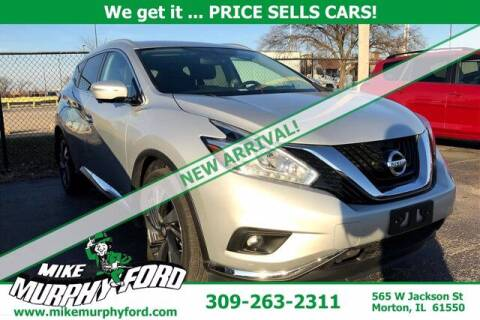 2015 Nissan Murano for sale at Mike Murphy Ford in Morton IL