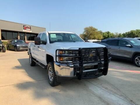 2018 Chevrolet Silverado 2500HD for sale at KIAN MOTORS INC in Plano TX