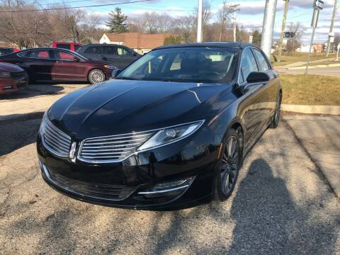 2016 Lincoln MKZ for sale at One Price Auto in Mount Clemens MI