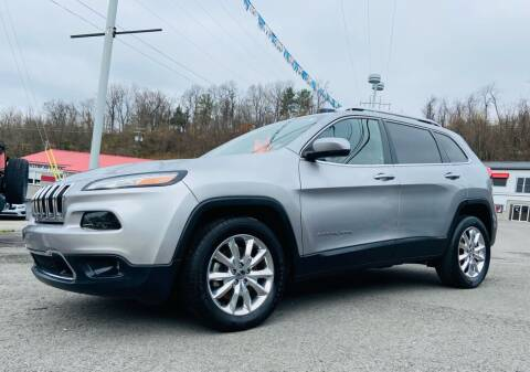 2016 Jeep Cherokee for sale at Bailey Brand in Clarksburg WV