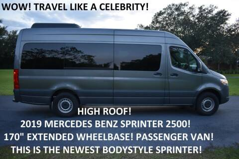 2019 Mercedes-Benz Sprinter Passenger for sale at Monaco Motor Group in Orlando FL