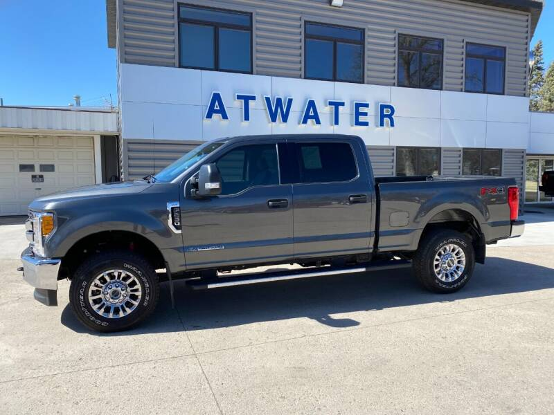 2017 Ford F-250 Super Duty for sale at Atwater Ford Inc in Atwater MN