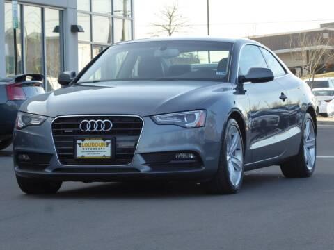 2014 Audi A5 for sale at Loudoun Motor Cars in Chantilly VA