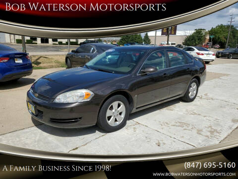 2008 Chevrolet Impala for sale at Bob Waterson Motorsports in South Elgin IL