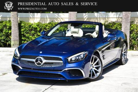 2017 Mercedes-Benz SL-Class for sale at Presidential Auto  Sales & Service in Delray Beach FL