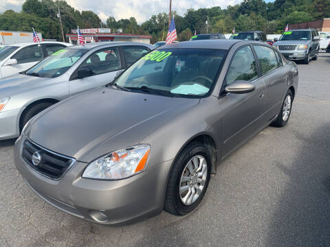 2003 Nissan Altima for sale at Wheel'n & Deal'n in Lenoir NC