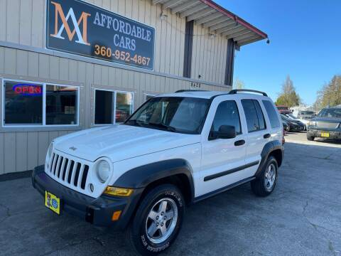 2006 Jeep Liberty for sale at M & A Affordable Cars in Vancouver WA