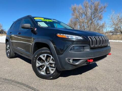 2015 Jeep Cherokee for sale at UNITED Automotive in Denver CO