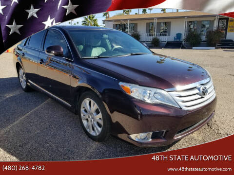 2011 Toyota Avalon for sale at 48TH STATE AUTOMOTIVE in Mesa AZ