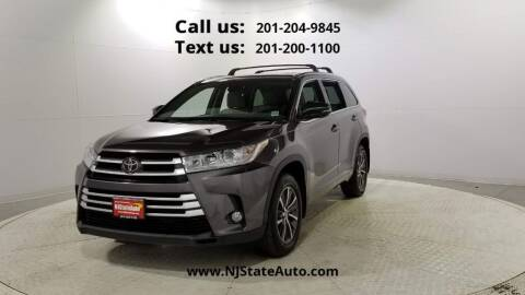 2017 Toyota Highlander for sale at NJ State Auto Used Cars in Jersey City NJ