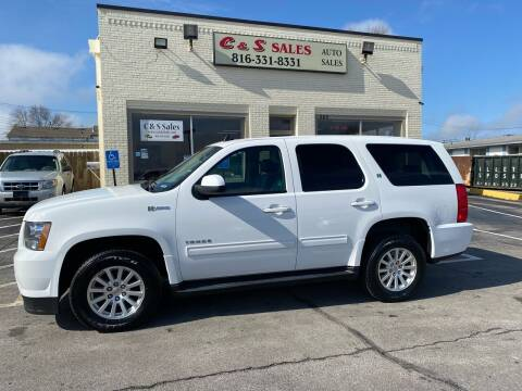 2013 Chevrolet Tahoe Hybrid for sale at C & S SALES in Belton MO