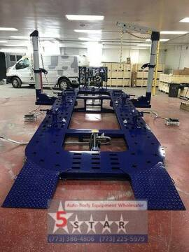 2020 18 FEET 2 TOWERS AUTO BODY FRAME MACHINE for sale at Kamran Auto Exchange Inc in Kenosha WI
