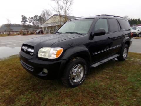 2006 Toyota Sequoia for sale at Creech Auto Sales in Garner NC