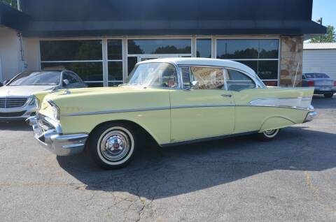 1957 Chevrolet Bel Air for sale at Amyn Motors Inc. in Tucker GA