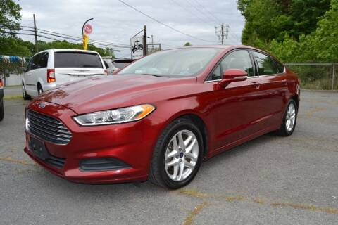 2014 Ford Fusion for sale at Victory Auto Sales in Randleman NC