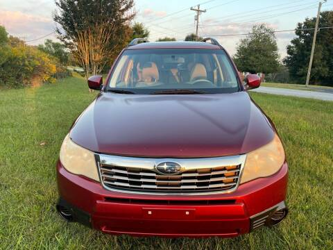 2010 Subaru Forester for sale at SHAN MOTORS, INC. in Thomasville NC