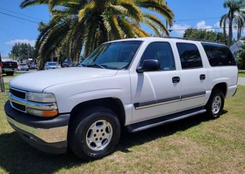 "2005 Chevrolet Suburban for sale at WHEELS ""R"" US 2017 LLC in Hudson FL"