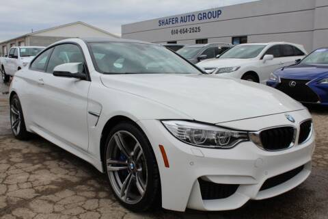 2015 BMW M4 for sale at SHAFER AUTO GROUP in Columbus OH