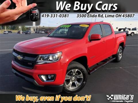 2017 Chevrolet Colorado for sale at White's Honda Toyota of Lima in Lima OH