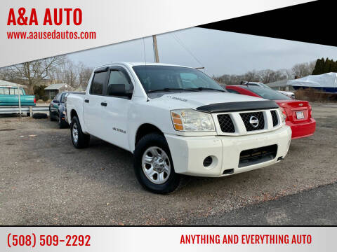 2006 Nissan Titan for sale at A&A AUTO in Fairhaven MA