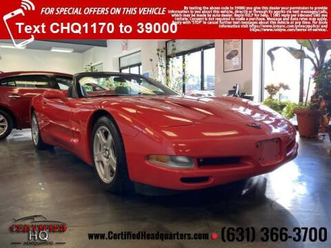 1998 Chevrolet Corvette for sale at CERTIFIED HEADQUARTERS in St James NY