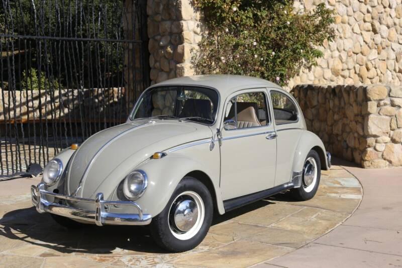 1966 Volkswagen Beetle for sale at Milpas Motors in Santa Barbara CA