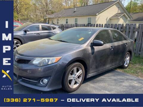 2012 Toyota Camry for sale at Impex Auto Sales in Greensboro NC